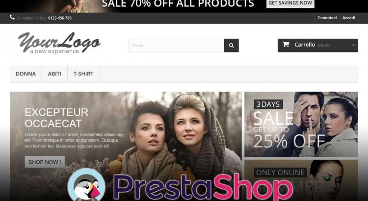 Installare Prestashop - Front-end dell'e-commerce